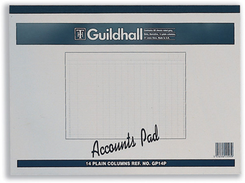Guildhall Account Pad