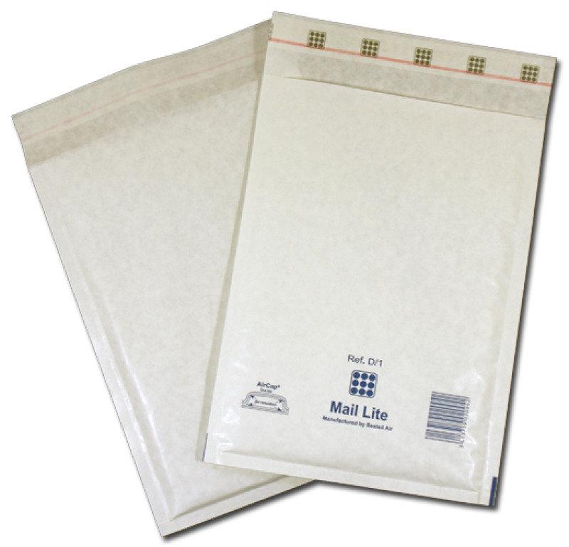 BUBBLE BAG SS WHT 220X330MM PK50 MLWF3
