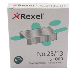 REXEL HEAVY DUTY STAPLES NO23/13MM P1000