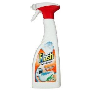 Flash Clean & Bleach Spray Pk1
