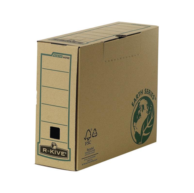 Fellowes R-Kive Earth Transfer File 100mm - 20 Pack