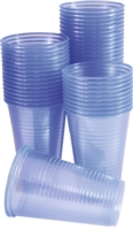 Nupik-Flo Water Cups 20cl Blue Pk