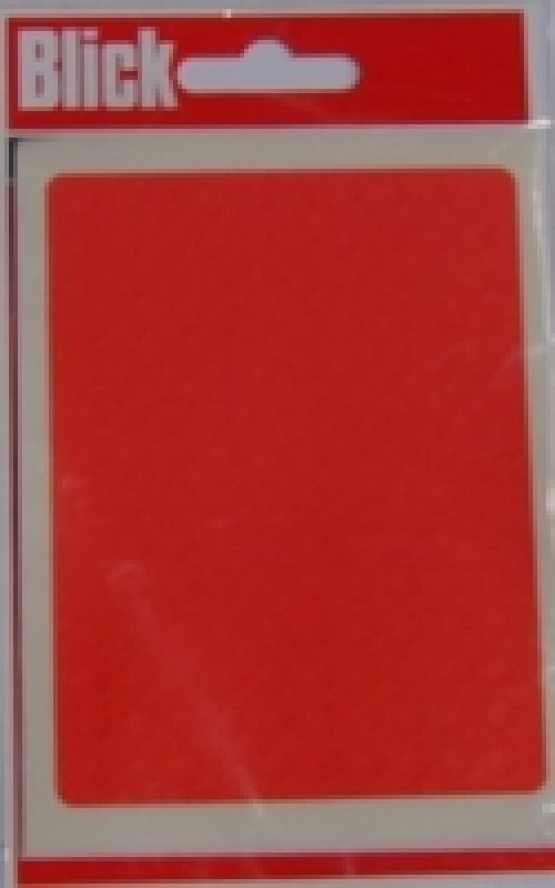 Blick Label Bag 5mm Red Pk980 - 20 Pack