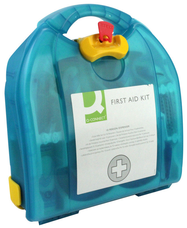 Q Connect 10 Person First Aid Kit