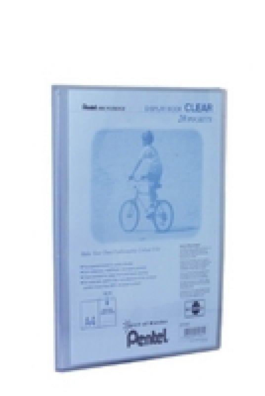 Pentel Recy A4 Disp Bk Clr 20pkt Blue - 20 Pack