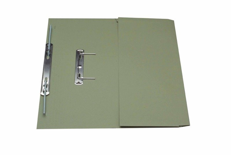 *Guildhall Heavy Weight Pocket Spiral File Grn - 25 Pack