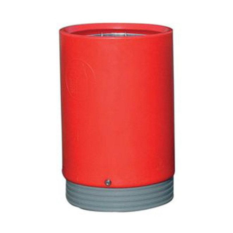 FD BIN OPEN TOP PCCK BASE LNL RED 3217