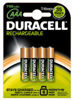 Duracell Staycharged Entry Aaa 750 Mah