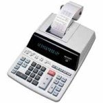 Sharp EL2607PGY Printing Calculator