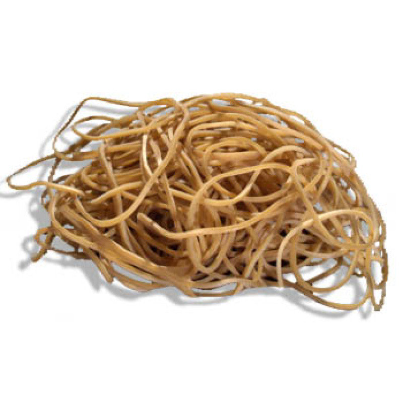 Q CONNECT RUBBER BANDS 500G NO 19