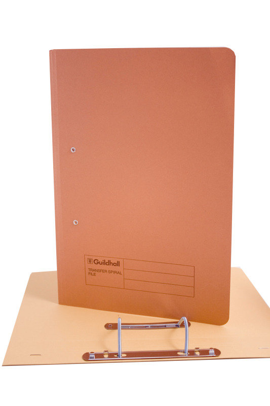 Guildhall Transfer File 275g Orange - 25 Pack