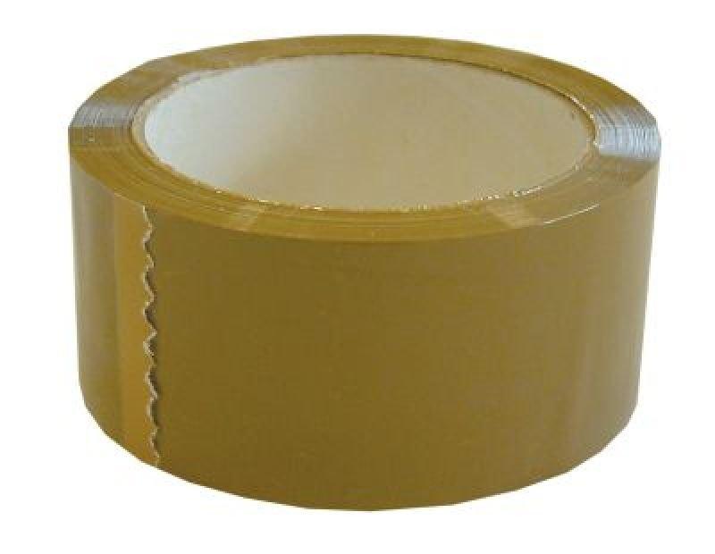Image of Ambassador Polyprop Tape 48x132mm Buff - 6 Pack