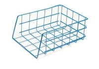 Universal Large Capacity Stacking Wire Tray Blue