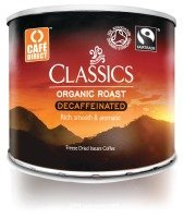 Cafe Direct Fair Trade Medium Roast Decaffeinated Orangic Coffee - 500g