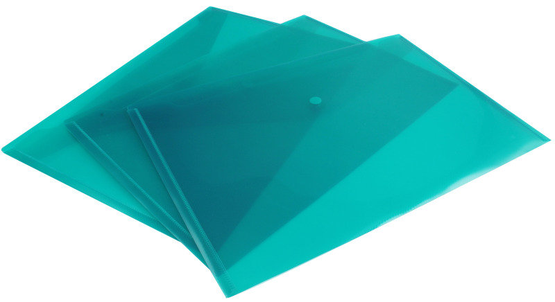 Snopake Polyfile Fcp Plus Emerald Green - 5 Pack