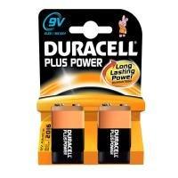 Duracell Plus 9V Battery - 2 Pack