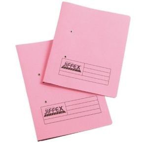 Eastlight Jiffex File A4 Pink 43247 - 50 Pack