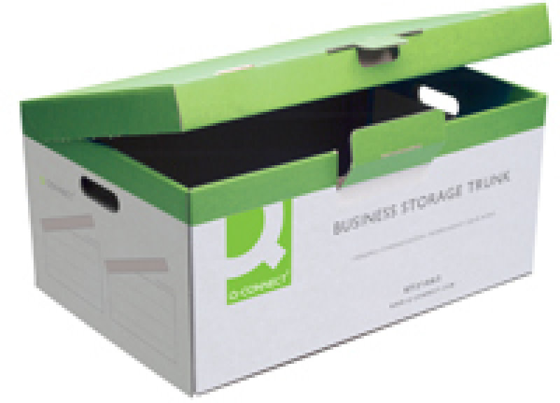 Q Connect Business Storage Trunk - 10 Pack