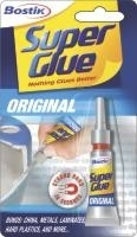 Image of BOSTIK SUPER GLUE TUBE 80607 PK12