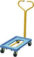 VFM Blue Plastic Dolly with Handle