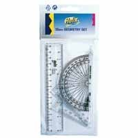 Helix Clear Geometry Set Q68048 - 15 Pack
