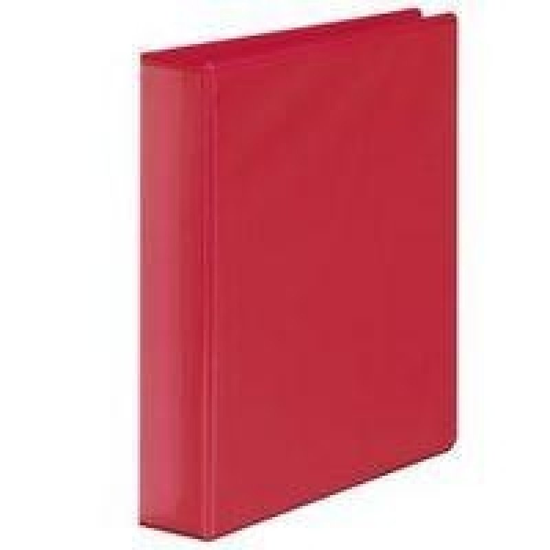 Extra Value Red A4 4D 40mm Ring Binder - 10 Pack