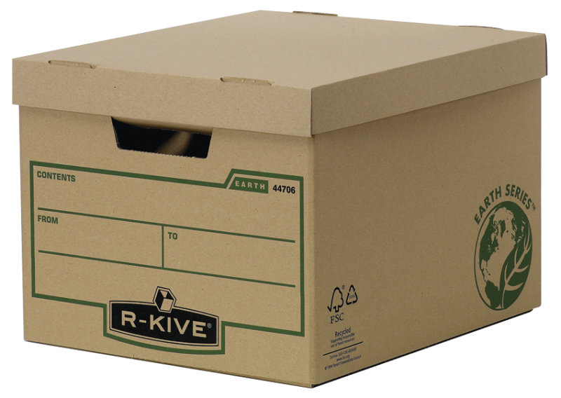 Fellowes R-Kive Earth Storage Box - 10 Pack