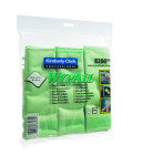 Wypall Green Microfibre Cloths - 6 Pack