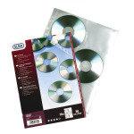 ELBA CD/DVD POCKET PK10 CLEAR 100206995