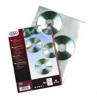 ELBA CD/DVD POCKET PK10 CLEAR 100206995