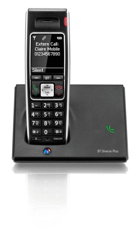 BT Diverse 7410 Plus Dect Telephone - Single