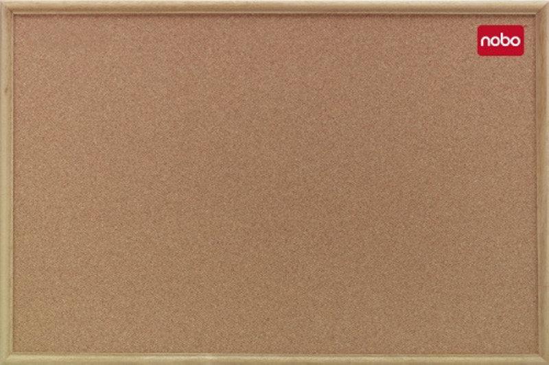 Nobo Corkboard 900x600 Classic Oak 39003