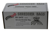Safe wrap Shredder Bag 150L Pk 50