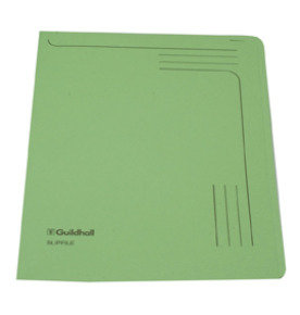 *Guildhall Slipfile 12.5x9in Green 14603 - 50 Pack