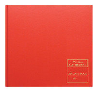 Collins Red Cathedral Analysis Book 297x315mm (1 Pack)