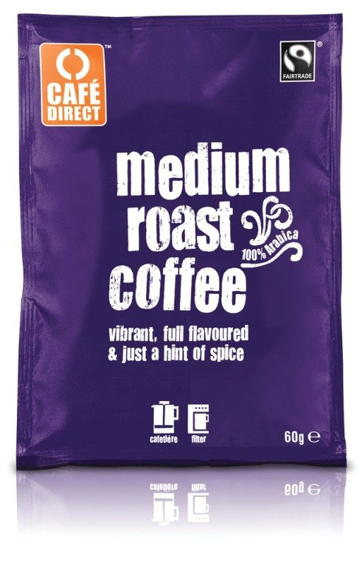 Cafedirect Smooth Roast Ground Coffee Sachet 60g