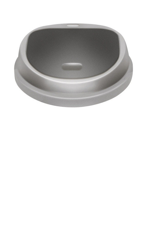 Image of ADDIS 50LT PRESS TOP BIN METALLIC 512834