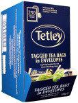 Tetley Enveloped Teabags - 250 Pack