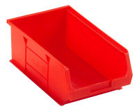 Barton Red Small Parts Container - 9.8 Litre