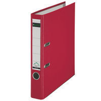 Leitz Miniarch Pp A4 52mm Red 1015-25 - 10 Pack