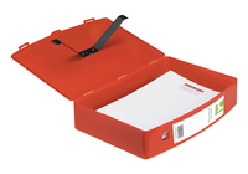 Q CONNECT BOXFILE POLYPROPYLENE RED
