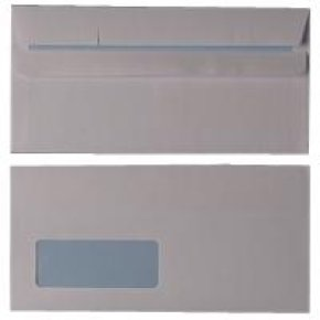 Q Connect Wallet Dl Wht Wdw Ss 80g Pk50 - 20 Pack