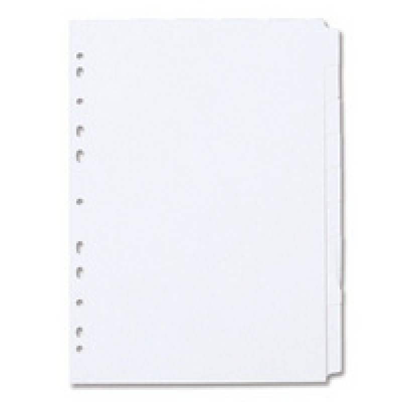 Concord Divider A4 10 Part White
