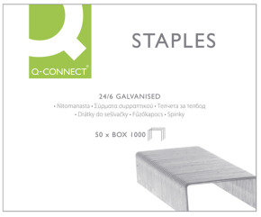 QCONNECT STAPLES 24/6 KF01278 P1000