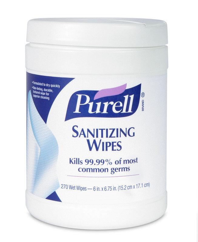 Purell 175 Sanitizing Wipes P08311