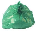 Refuse Sack 100g Green (Pack of 200) CS002