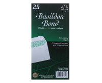 BASILDON BOND PEEL DL WDW WHT WTRMK P500