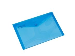 REXEL CARRY FOLDER A4 TRAN BLU PK5 9BU
