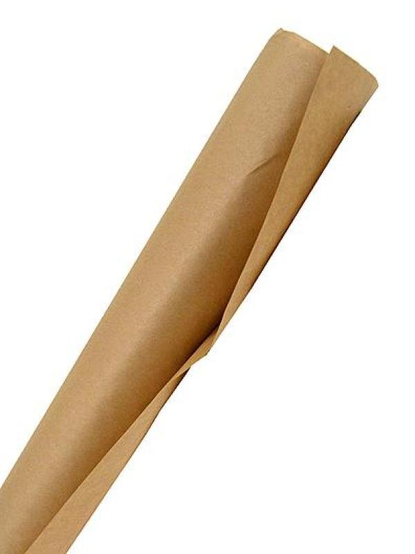 Image of Kraft Brown Paper Roll 500mm x 6m