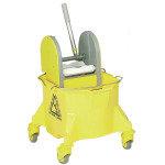 Contico 15 Litre Mobile Mop Bucket - Yellow